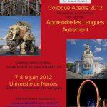 Colloque ACEDLE 2012